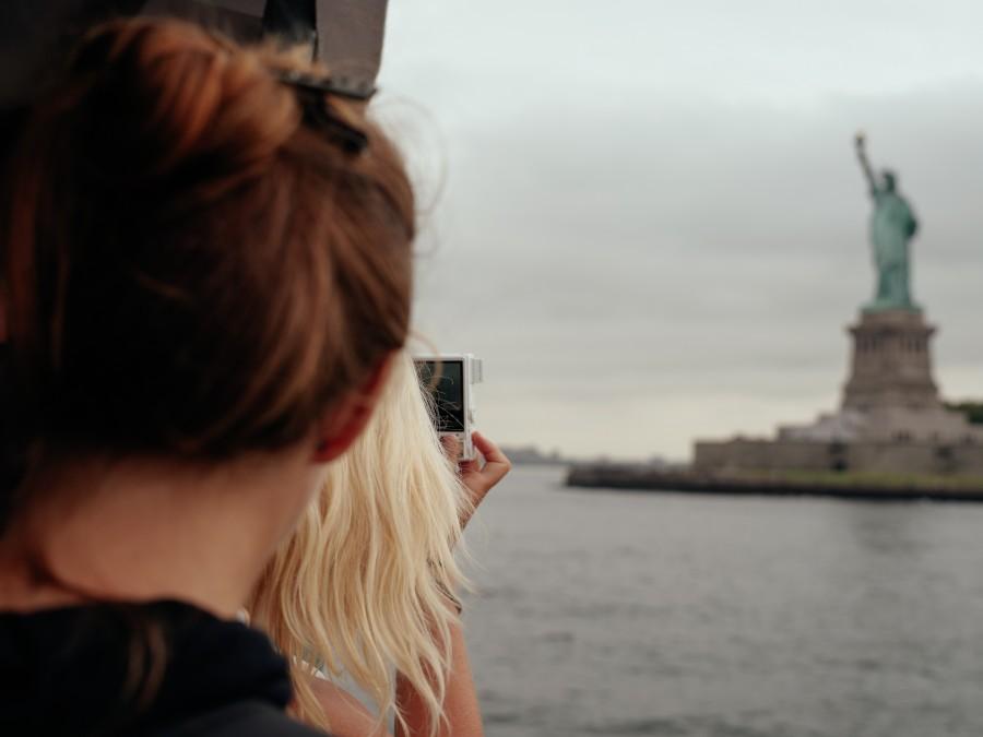Estatua de la Libertad, estados unidos, usa, estatua, dia, primer plano, simbolo, new york, mujer, turista, turismo, fotografia, viaje, viajar, vacaciones,