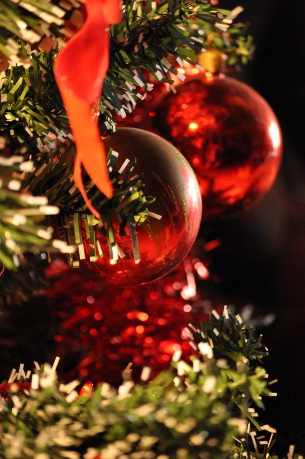 navidad, detalle, adorno, navideo, navidea, decoracion, celebracion, 2015, festejo, rojo, arbol de navidad, arbol,