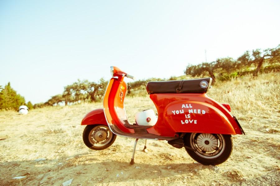 moto, italia, italiano, amor, mensaje, rojo, transporte, nadie, motocicleta,