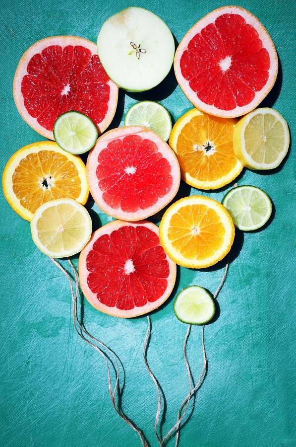 citrico, fondo, background, rodaja, naranja, pomelo, acido, fruta, frutal, limon,