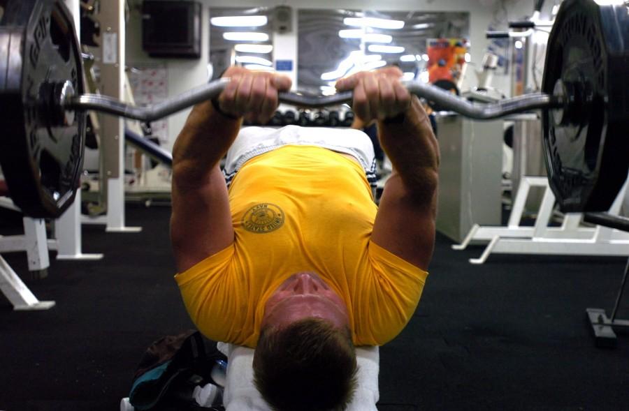 gym, gimnasio, pesa, pesas, fuerza, hombre, adulto, deporte, interior,