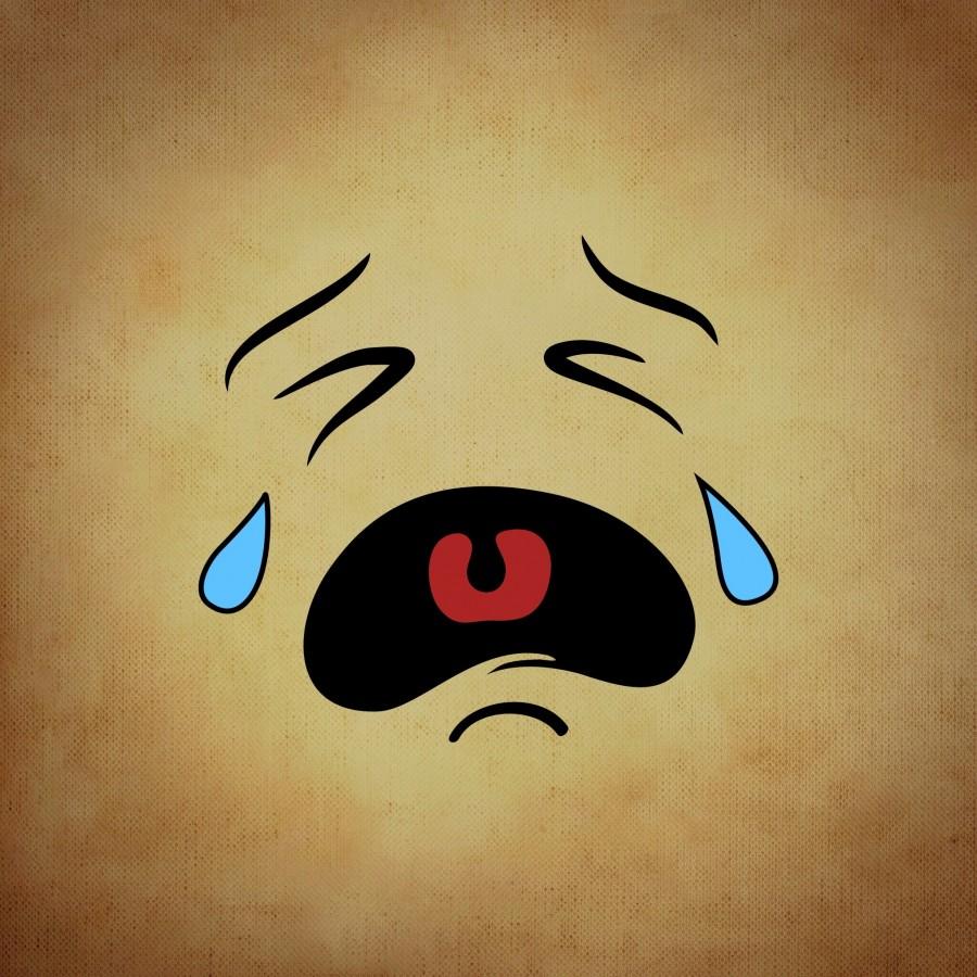 ilustracion, cara, triste, tristeza, emocion, dibujo, lagrima,