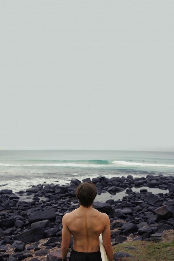 hombre, deporte, playa, dia, costa, surf, joven, 20 años, verano,