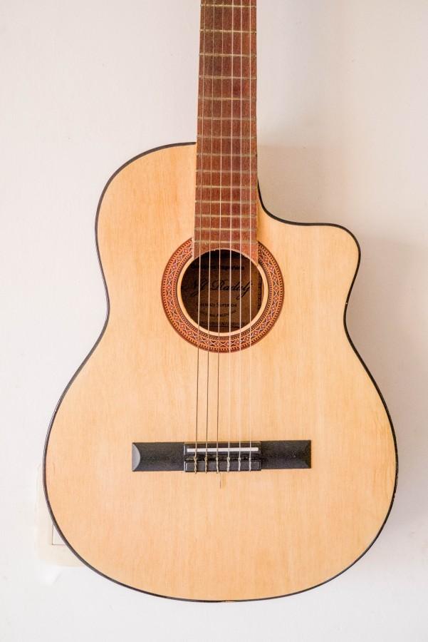guitarra, instrumento, musica, musical, primer plano, cuerdas,