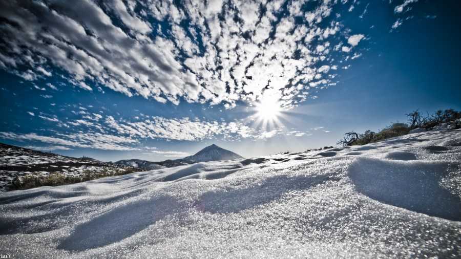 Imagen de paisaje nevado foto gratis - Paisaje nevado navidad ...