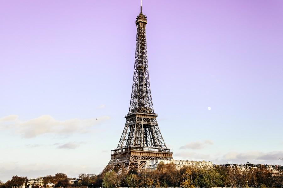 Torre Eiffel, paris, francia, ciudad, monumento, dia, paisaje, urbano,