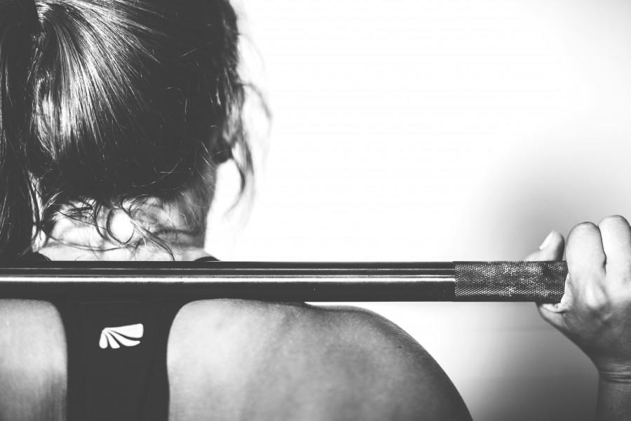 crossfit, deportes, gimnasio, formación, ejercicio, atleta, Joven, saludable, entrenamiento, ajuste, muscular, cuerpo, personas, fuerza, poder, mujeres, el deporte, mujer,  levantamiento de pesas, de peso , gente