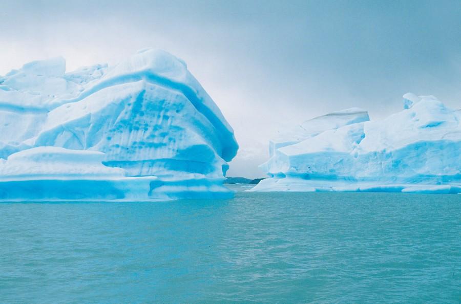 glaciar, sur, argentina, frio, invierno, azul, hielo, congelado, paisaje