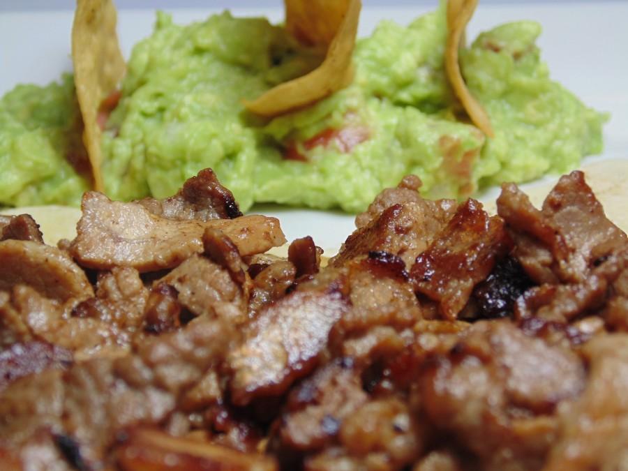 comida, mexico, mexicana, plato, carne, latino, tipico, vacuno, cerdo, guacamole,