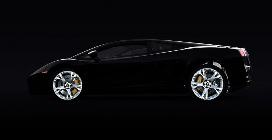 lamborghini, negro, fondo negro, auto, deportivo, lujo, uno, coche, carro,