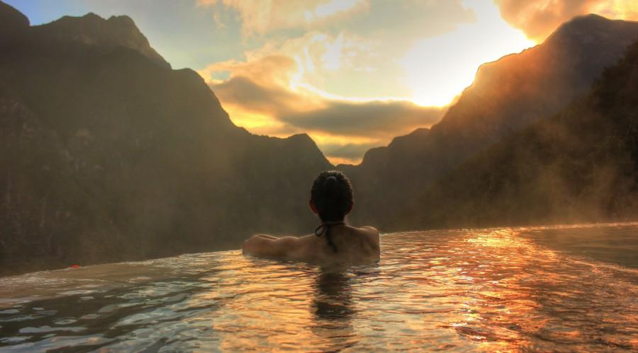 descanso, vista, paraiso, mexico, soleado, cielo, mar, naturaleza, turismo, relax, vacaciones, mujer, joven, femenina