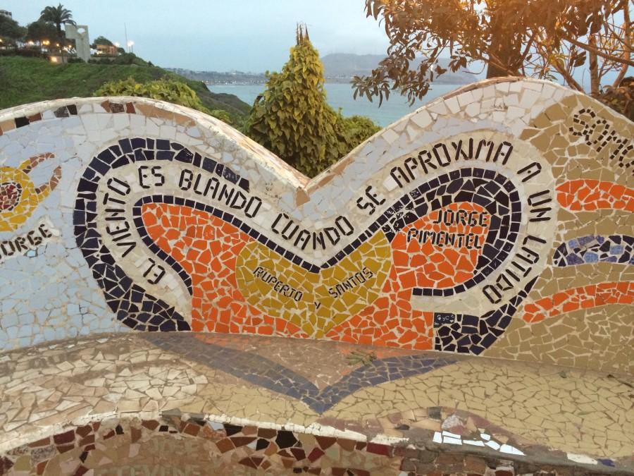 lima, peru, america del sur, america latina, parque del amor, costa, costanera, mural, frase, letras, arte,