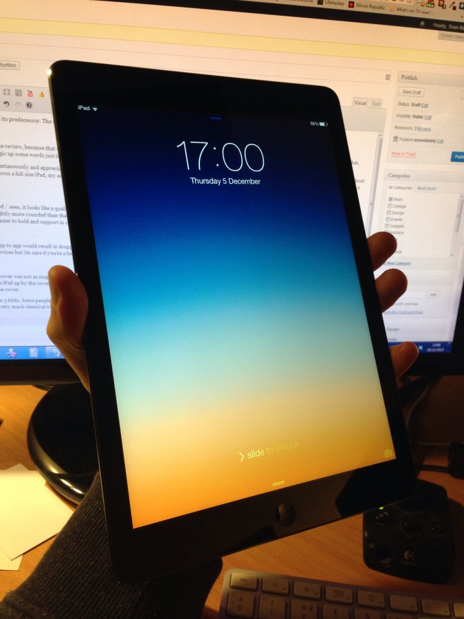 ipad, tecnologia, tactil, ordenador, interior, tableta digital, mano, hombre, hora,
