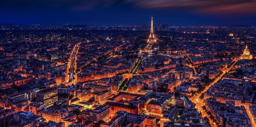 parís, francia, torre eiffel, noche, la noche de parís, ciudad, megalópolis, monumentos, historia , fotos gratis, imágenes gratis, paisaje