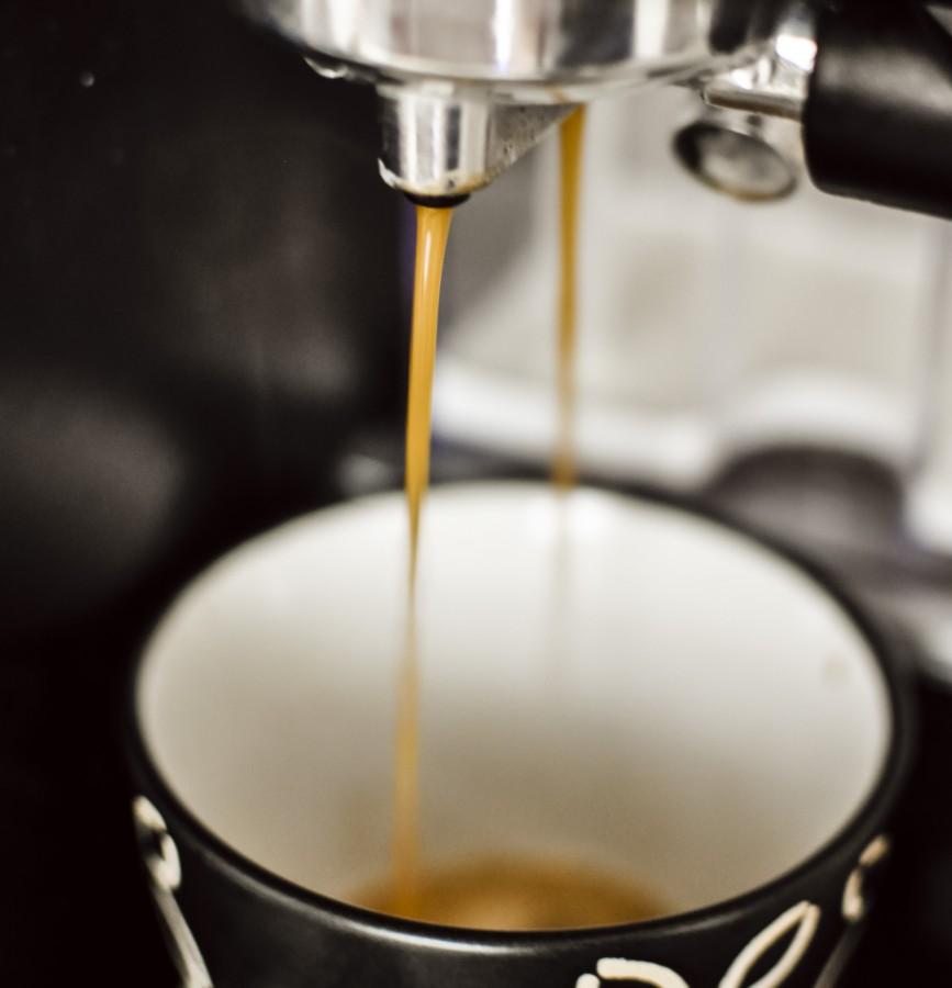 cafe, espresso, italiano, desayuno, bebidas, caliente