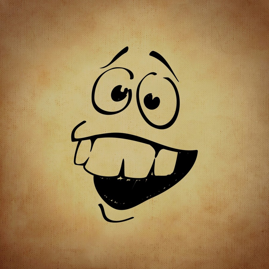 ilustracion, dibujo, alegria, rostro, emocion,