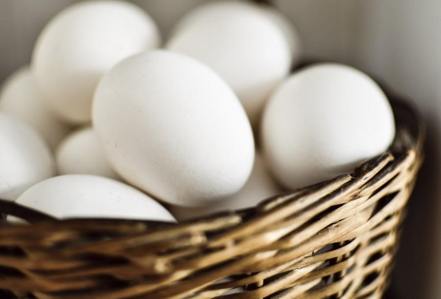 Huevos, Canaste, Gallina, Blanco, Comida, Proteina, Pascuas, Mimbre