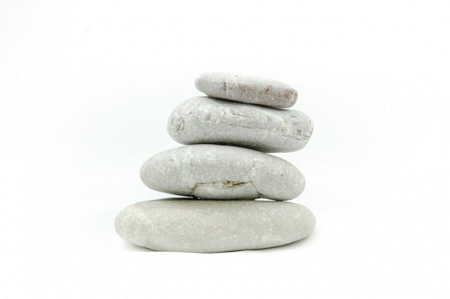 roca, rocas, piedra, pidras, pila, equilibrio, zen, serenidad, fondo blanco, concepto,