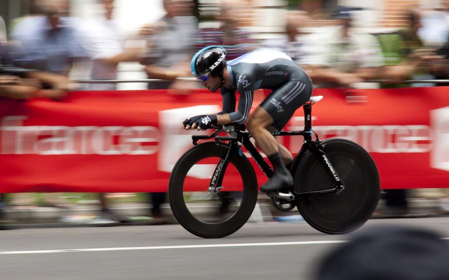 ciclista, ciclismo, deporte, carrera, hombre, joven, velocidad, actividad, dia, publico, deportista,