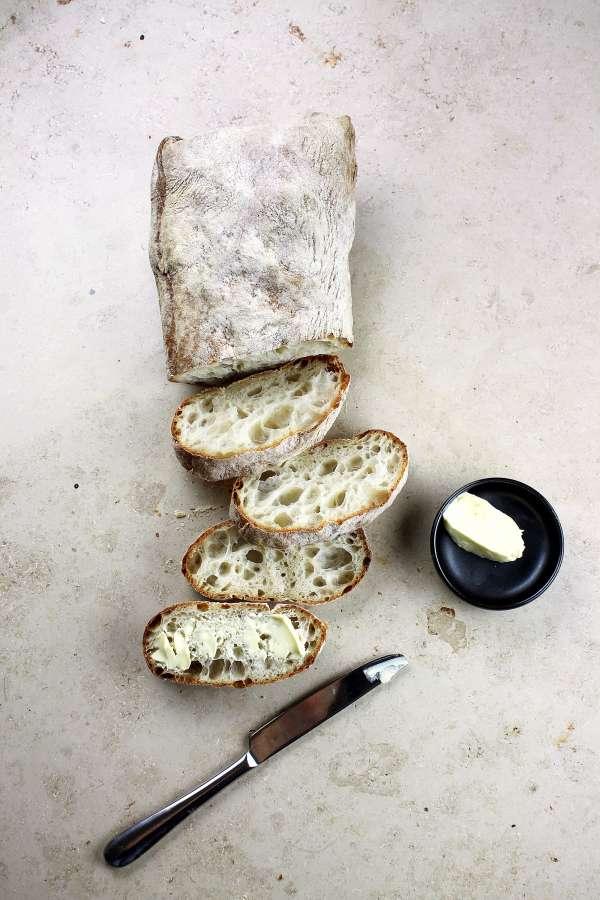 pan frances, pan, rebanada, cortado, comida,