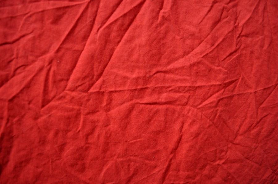 Imagen De Textura De Tela Roja