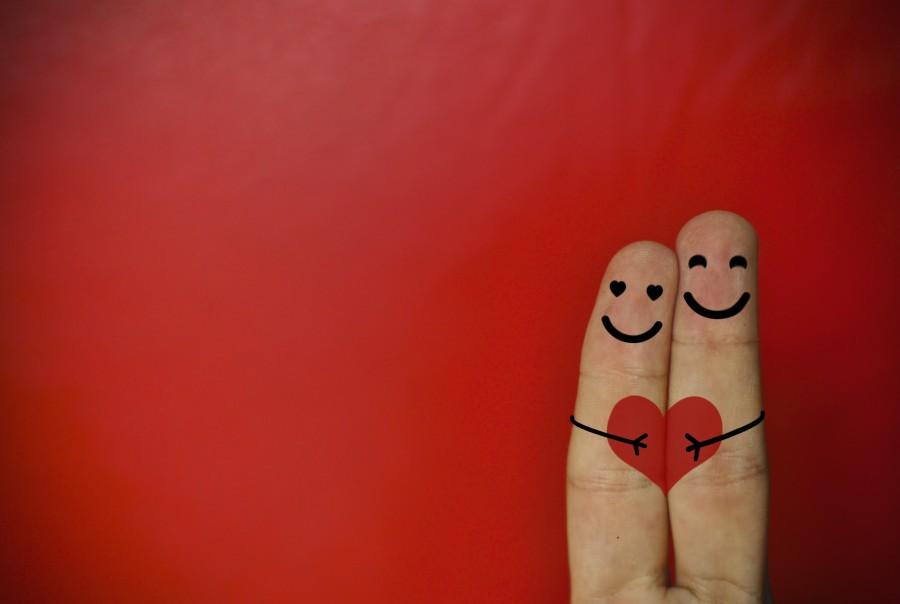 amor, dedos, mano, rojo, dia de los enamorados, san valentin, corazon, fondo de pantalla