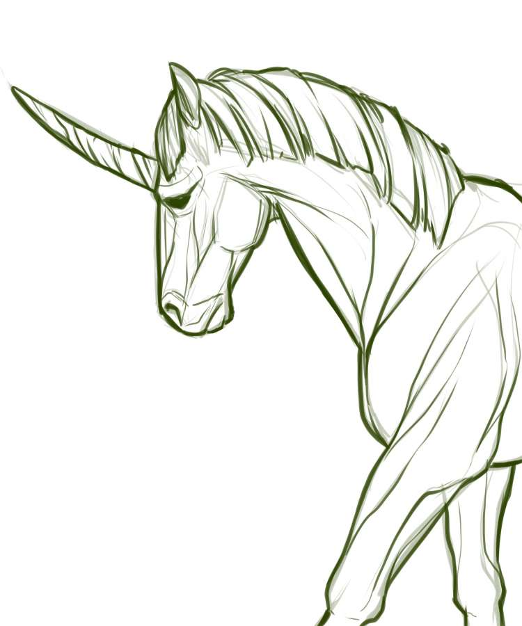 realistic unicorn with wings coloring pages