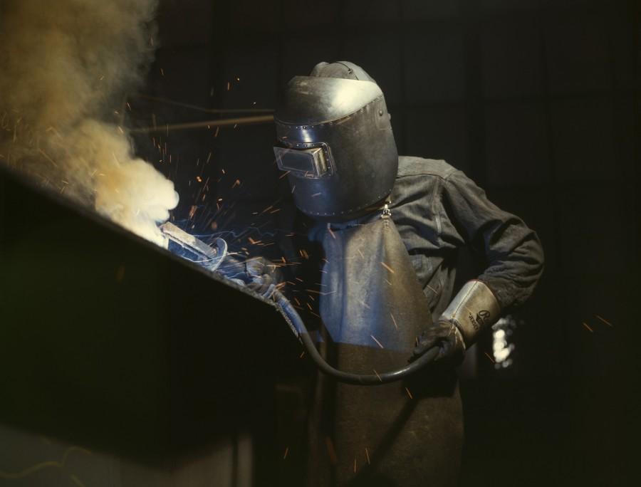 soldar, soldadura, hombre, metalurgico, mascara, trabajo, trabajador, industria, soldador,