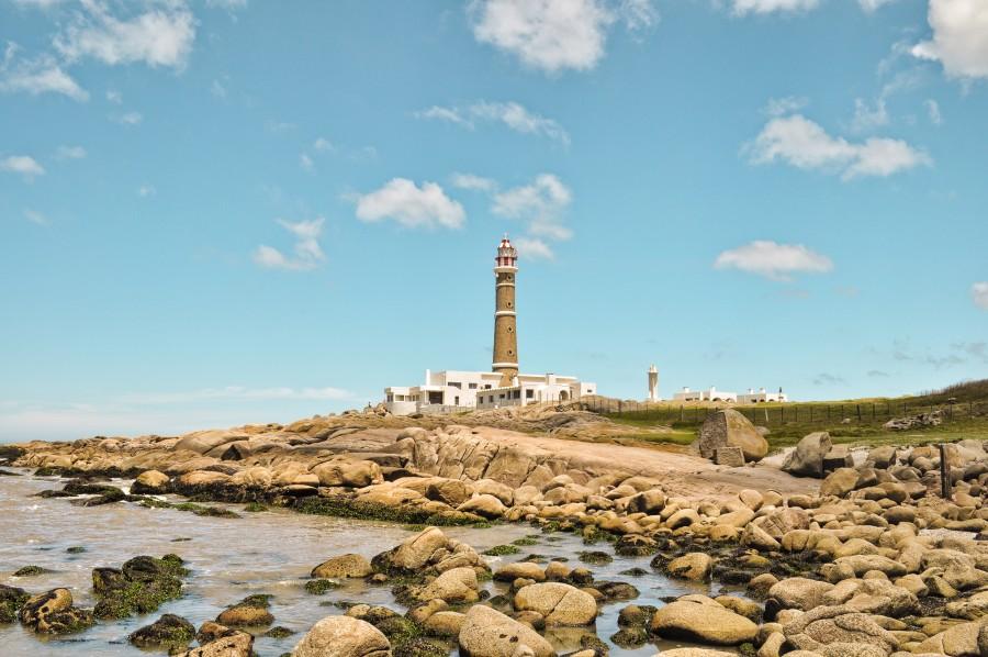 faro, paisaje, turismo, viaje, cabo polonio, rocha, uruguay, playa, mar