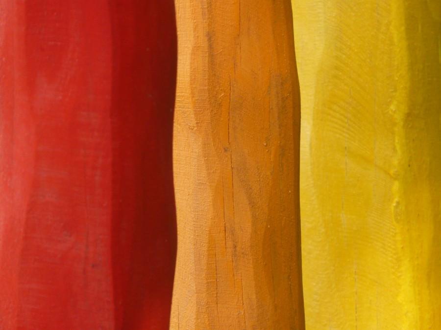 madera, pintadas, barras, colorido, rojo, naranja, amarillo, pintura, color, el arte, obras de arte, fondo, textura, colores, calido, calidos,