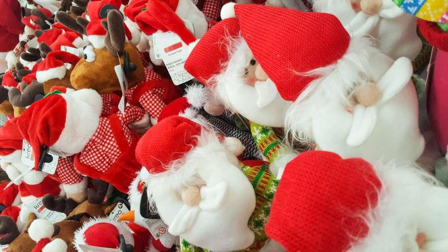 santa, toys, christmas, winter, gift, xmas, decoration, snow
