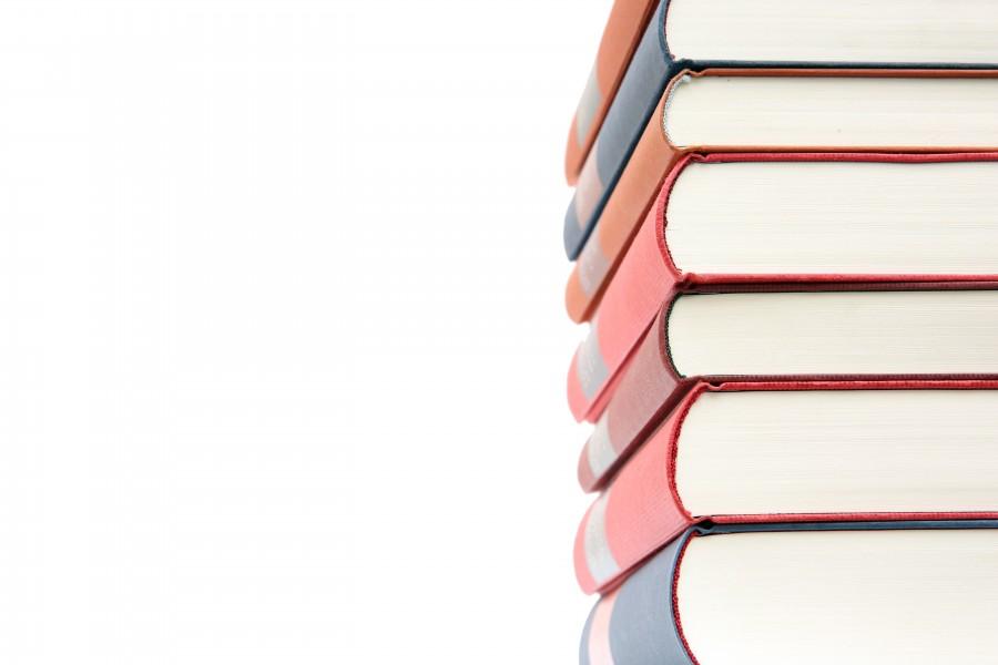 libro,libros, pila, apilados, educacion, fondo blanco, nadie,