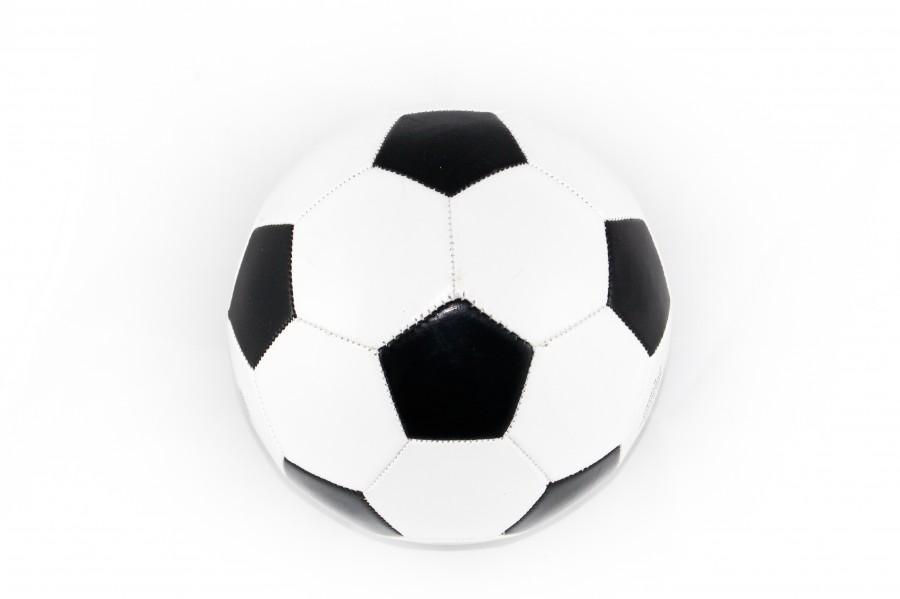 pelota, futbol, deporte, fondo blanco, balon, nadie, soccer,