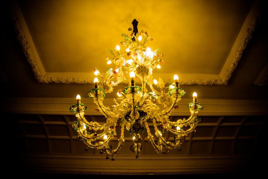candelabro, iluminacion, interior, decoracion, casa, brillante, noche, encendido, luz,