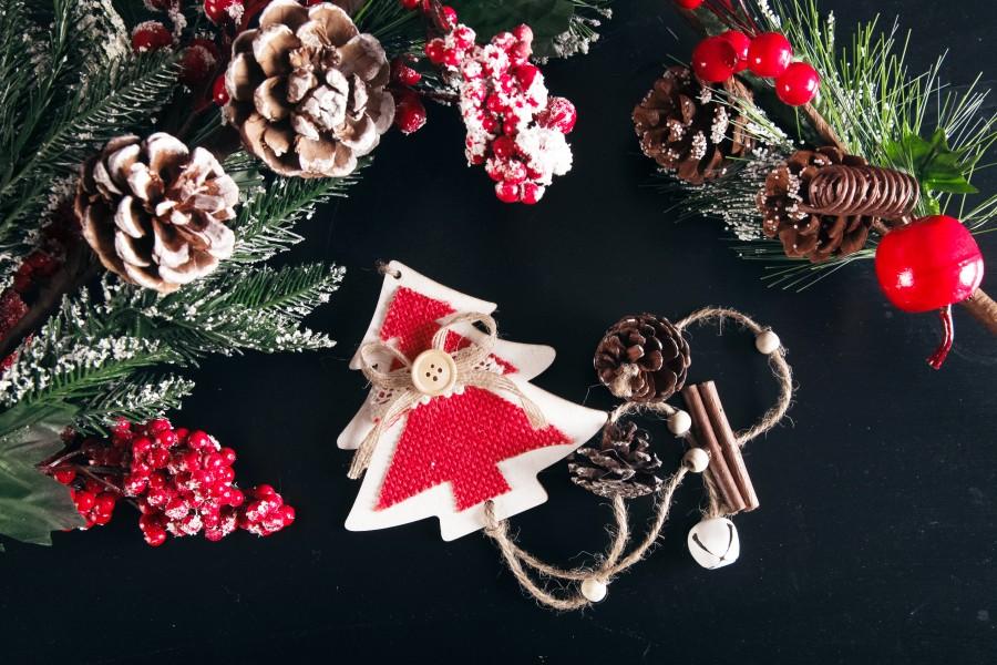 navidad, detalle, adorno, adornos, decoracion, navideño, fondo negro,