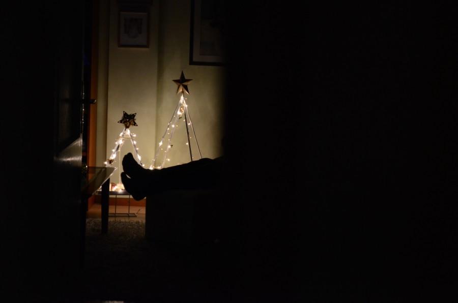 navidad, detalle, adorno, navideño, navideña, decoracion, celebracion, 2015, festejo, una persona, gente, hombre, relax, noche, nocturno, noche buena, estrella, tranquilidad,