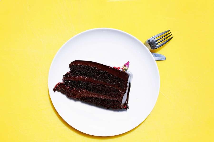 torta, chocolate, pastel, dulce, comida, festejo, rebanada, rodaja,