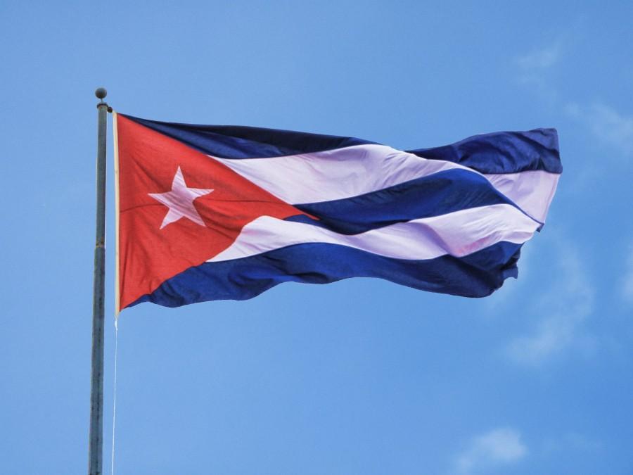 cuba, bandera, simbolo, primer plano, cubano, revolucion, comunismo, america,