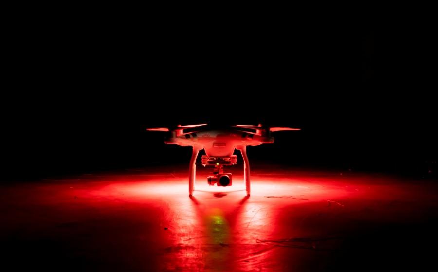 drone, tecnologia, fotografia, wireless, camara, copter, rojo,