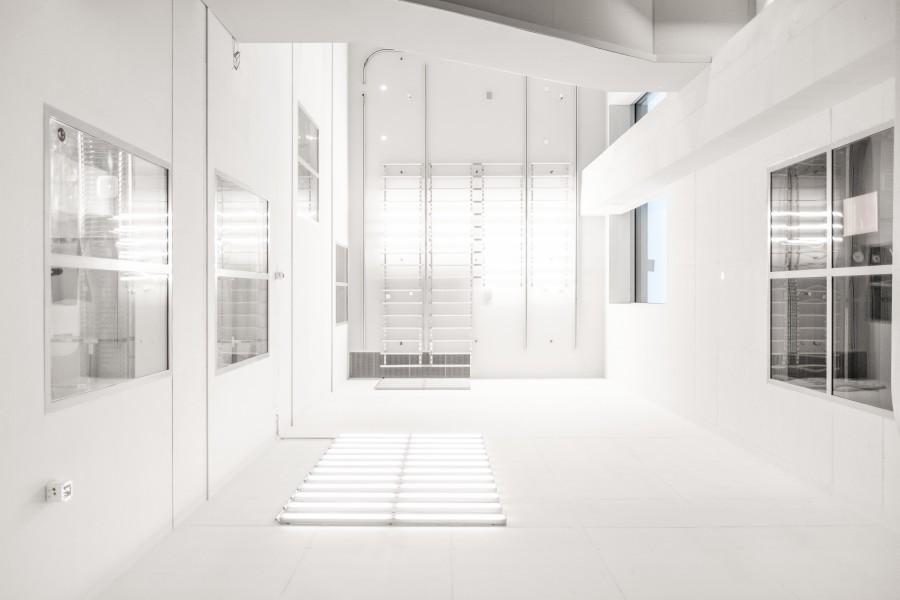 arquitectura, interior, sala, habitacion, casa, blanco, moderno, living, nadie,