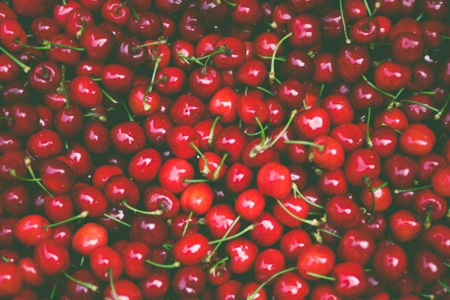 cereza, cerezas, fondo, background, fruta, frutal, rojo,