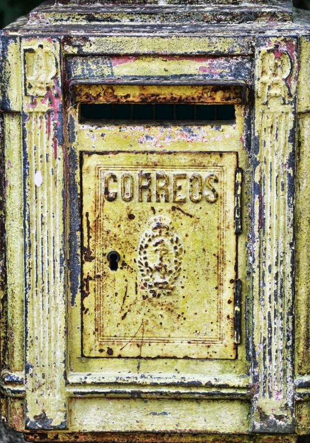 Buzon, Correo, Antiguo, Oxido, Cartas, Correos