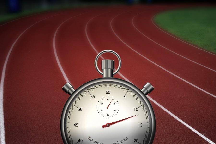 Cronometro, deporte, tiempo, carrera, llegada, olimpico, reloj, presicion, nadie, concepto, segundo, minuto,