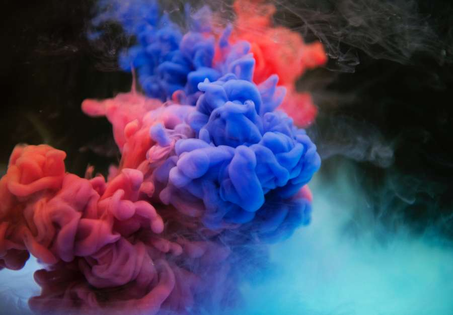 color, colores, tinta, azul, rojo, liquido, humedo, splash, textura, fondo, mezcla, mezclar, mix, colorido, abstracto, nadie,