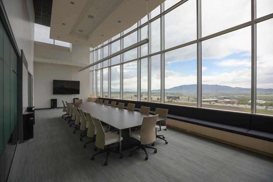 sala de reunion, mesa, negocios, nadie, sala de reuniones, vacio,