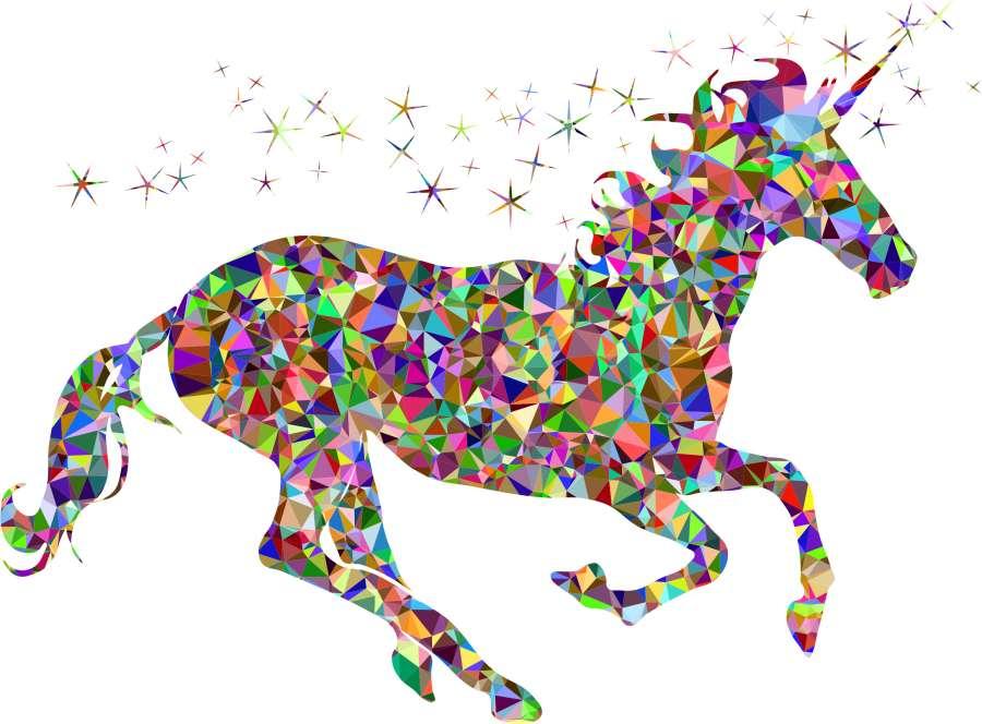 Imagen De Fondo De Unicornio Animado Foto Gratis 100011156
