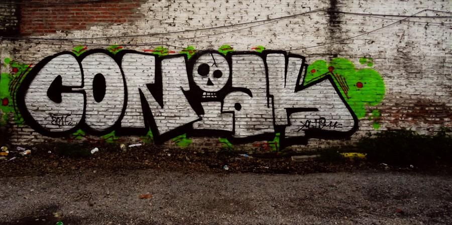 graffitis, murales, paredes, arte urbano, pintadas, aerosol, fotos de graffiti, arte en la calle, artistas, Coñak, cultura