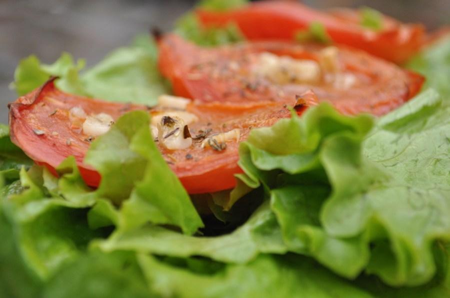 Dieta de lechuga y tomate