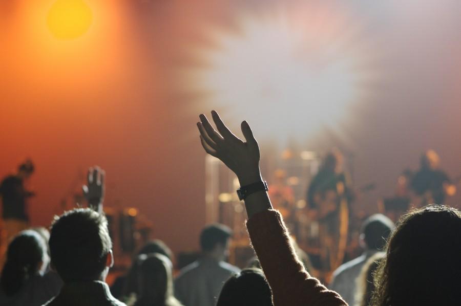 concierto, espectaculo, musica, gente, gente, diversion, entretenimiento, etapa, luces, banda, musicos