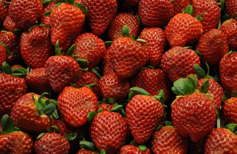 Frutilla, Frutillas, Rojo, Comida, Fruta